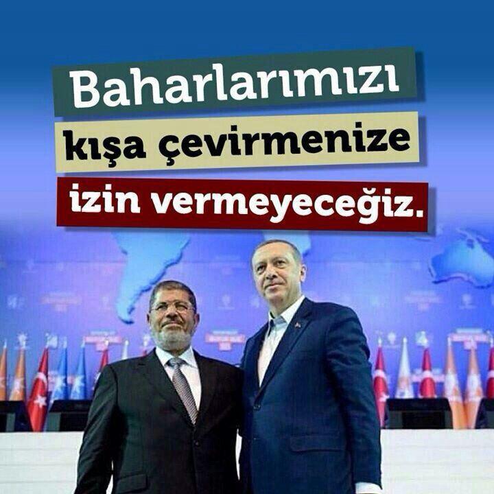 Mursi'nin yanindayiz..