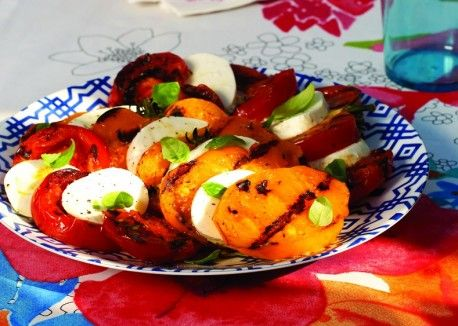 Grilled Insalata Caprese from @Vegetarian Times