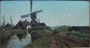 Het was P.J.C. Gabriël, een van de topschilders van de Haagse School, die omstreeks ...