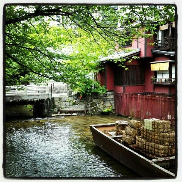 一之船入 · 京都 高瀬川  Ichinofunairi, Takasegawa, Kyoto