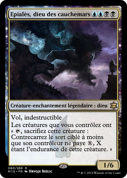 Epialès, dieu des cauchemars - Magic the Gathering