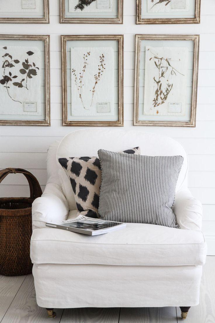 Tine K Home | Kuddfodral Stripe Black 50/50 | Matilde & Co | Handla online