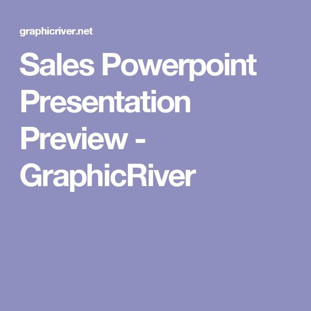 Sales Powerpoint Presentation Preview - GraphicRiver