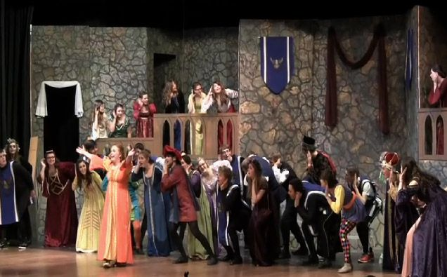 """A classic twist on the story of The Princess and the Pea is on tap at Big Walnut High School this weekend in their production of """"Once Upon a Mattress."""""""