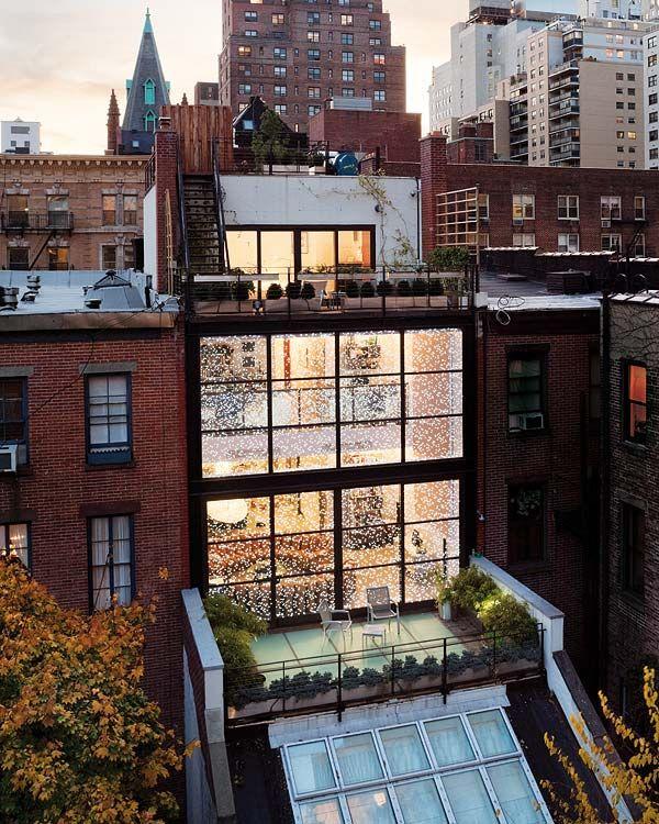 Cristal y Leds en Manhattan · Glass & Leds in Manhattan