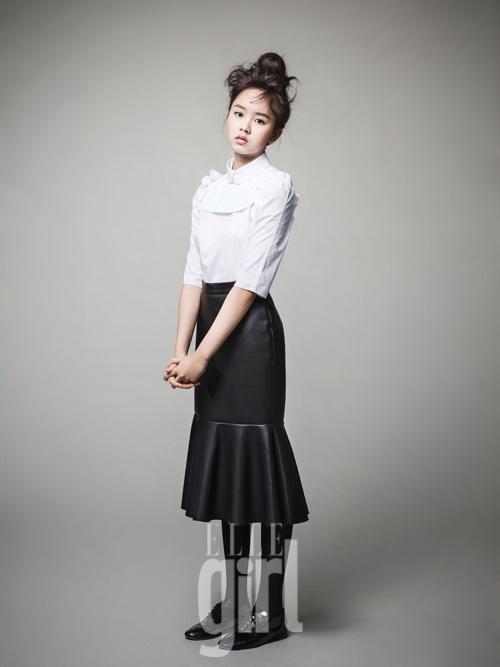 Kim So Hyun in Elle Girl Korea January 2013
