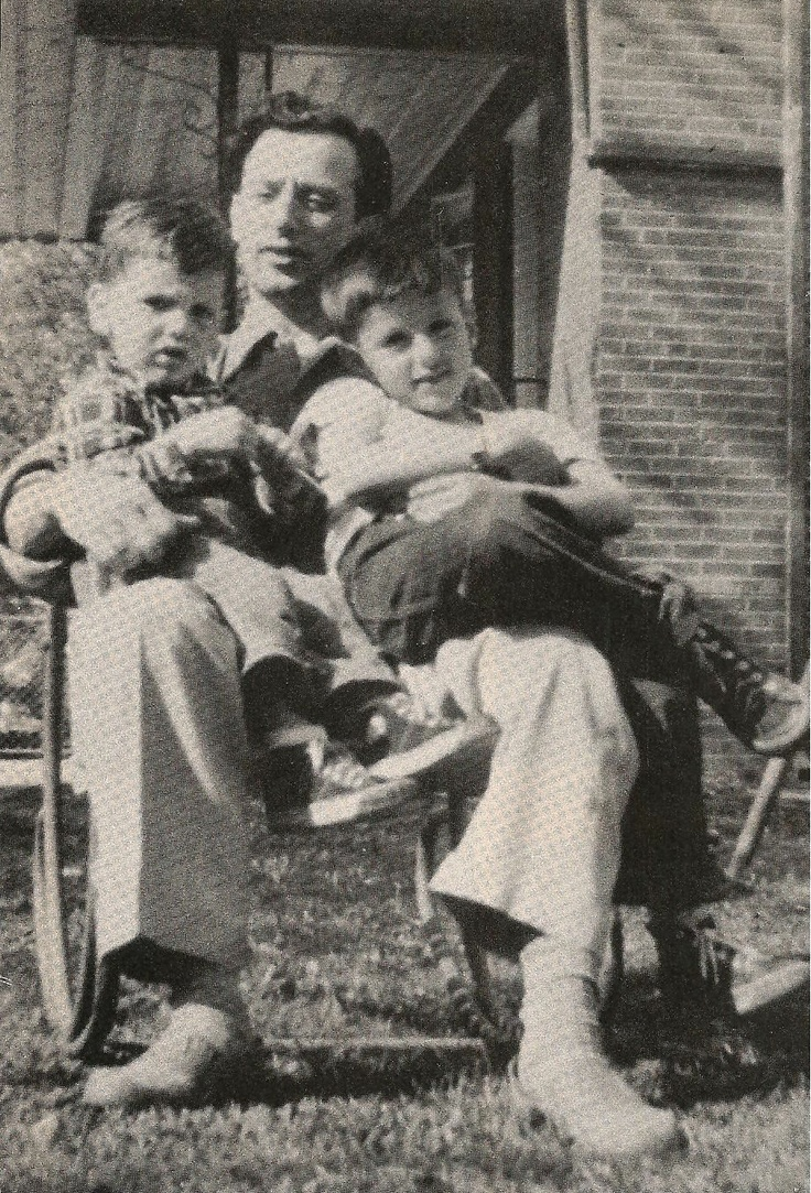 Father & Sons: Frank Stallone, Jr. (L), Frank Stallone, Sr., & Sylvester Stallone (R)