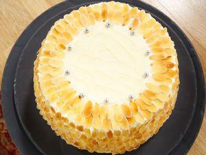 L'Angel cake de Mercotte, facile et pas cher