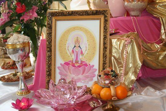 Как сделать алтарь для поклонения Богини Лакшми