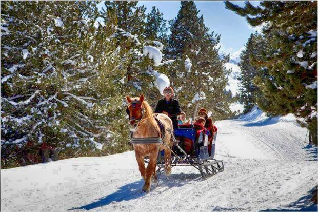 Descubrir la Val d'Aran con excursiones en trineos tirados por perros y caballos | Actualidad |QTRAVEL Revista de viajes - Portal de viajes y turismo