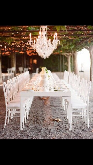 Touches of crystal chandeliers