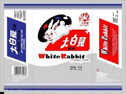 Image result for font white rabbit sweet