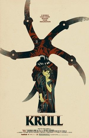 Phantom City Creative's Customer KRULL Movie Poster | #movies #indie #canadian…