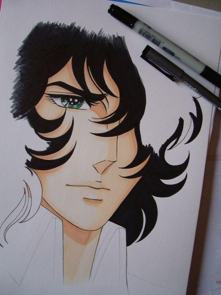 Coloring monsieur Grandier...work in progress by LizzziebyLisaCosta