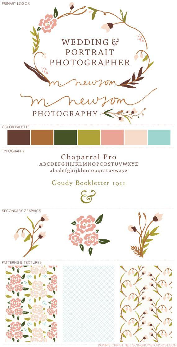 brand design for m.newsom photography
