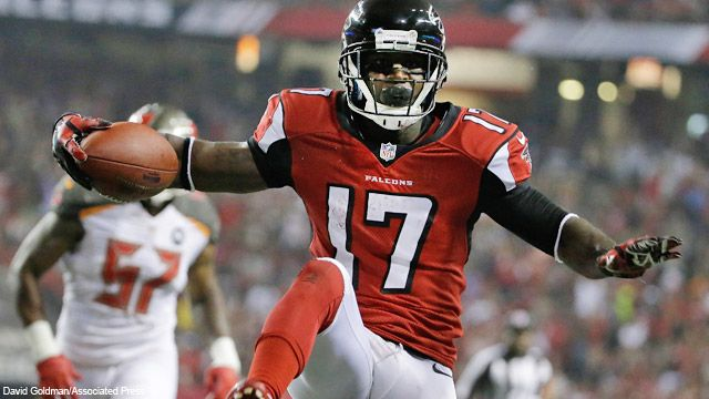 9-18-2014 — With his punt return TD in tonight's Thursday Night Football game against the Tampa Bay Buccaneers, Atlanta Falcons WR Devin Hester now has the NFL record for touchdown returns with 20.