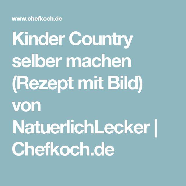 Kinder Country selber machen (Rezept mit Bild) von NatuerlichLecker | Chefkoch.de