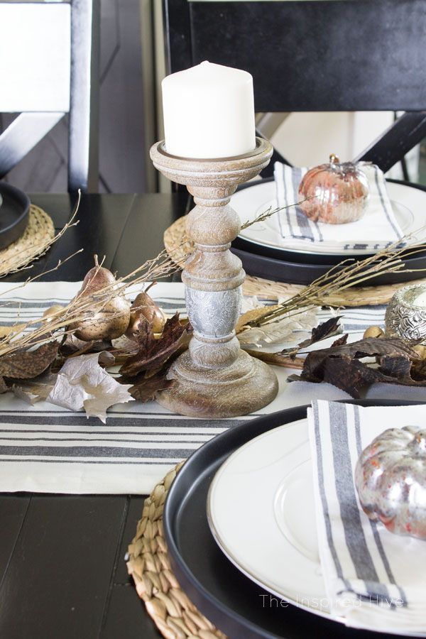 Farmhouse Glam Tablescape By Theinspiredhive For Worldmarket Dining Room Home Decor