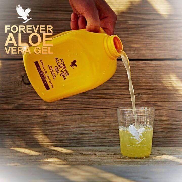 Forever Living aloe vera gel juice