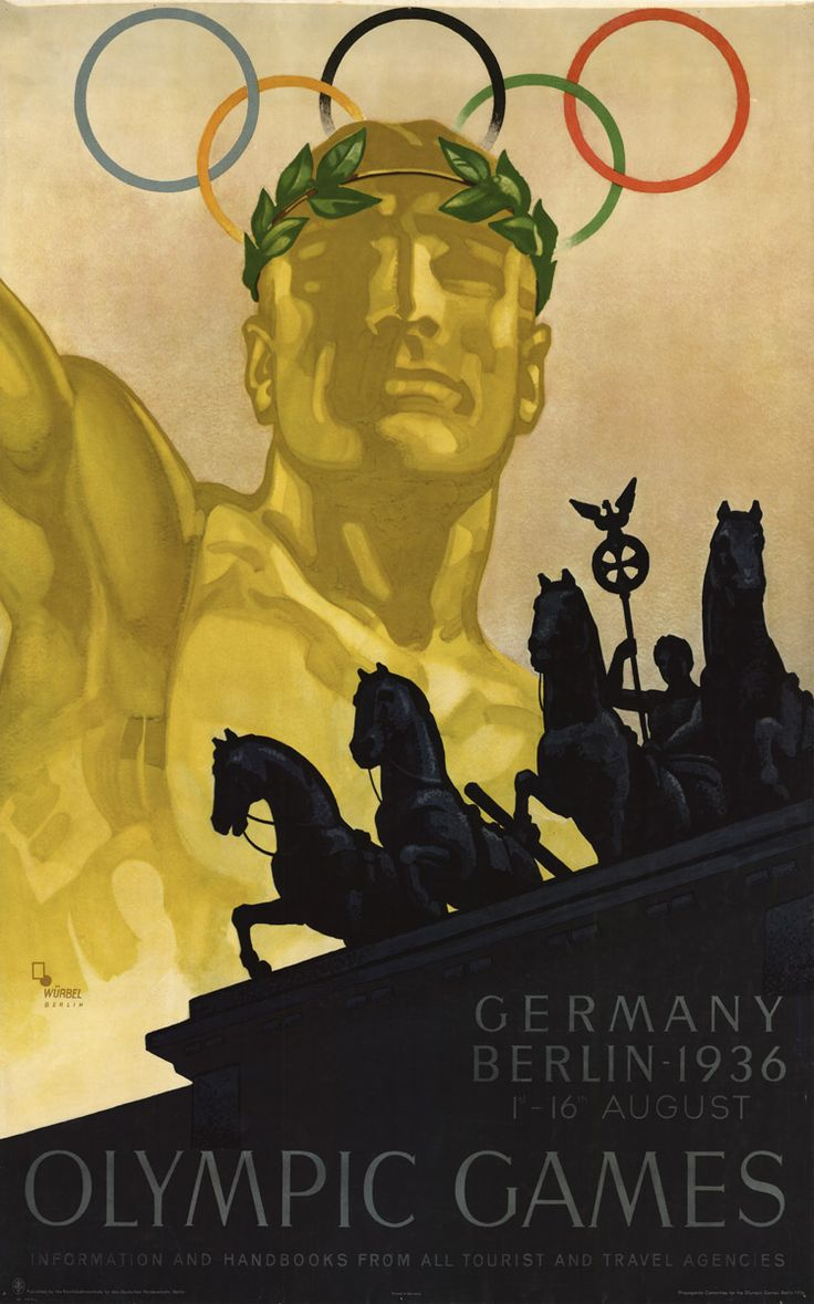1936 Summer Olympic Games // man, Germany is so creepy even when they're trying to be welcoming!