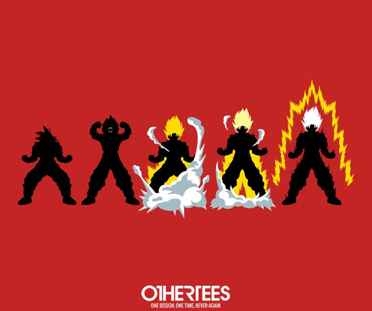 """Dragon's Rage"" by JBaz T-shirts, Tank Tops, V-necks, Sweatshirts and Hoodies are on sale until March 11th at www.OtherTees.com #dragonballz #dragonball #anime #goku #songohan #othertees"