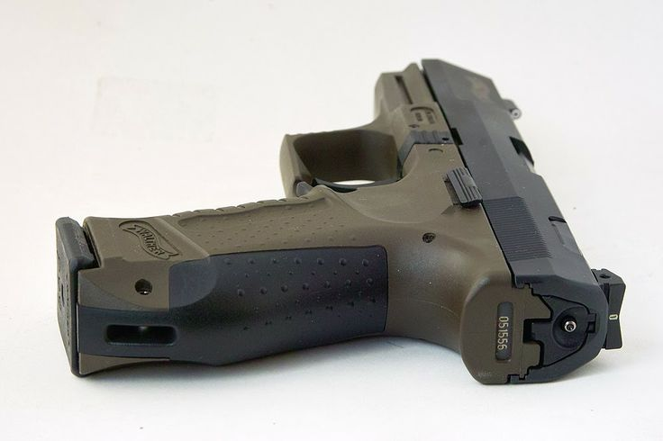 Full Of Weapons: Walther P99 AS. This is a double action/single action striker fired pistol.