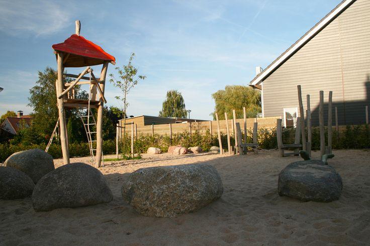 Woonwijk de Woerden in Herveld, inrichting openbare ruimte en natuurlijk spelen