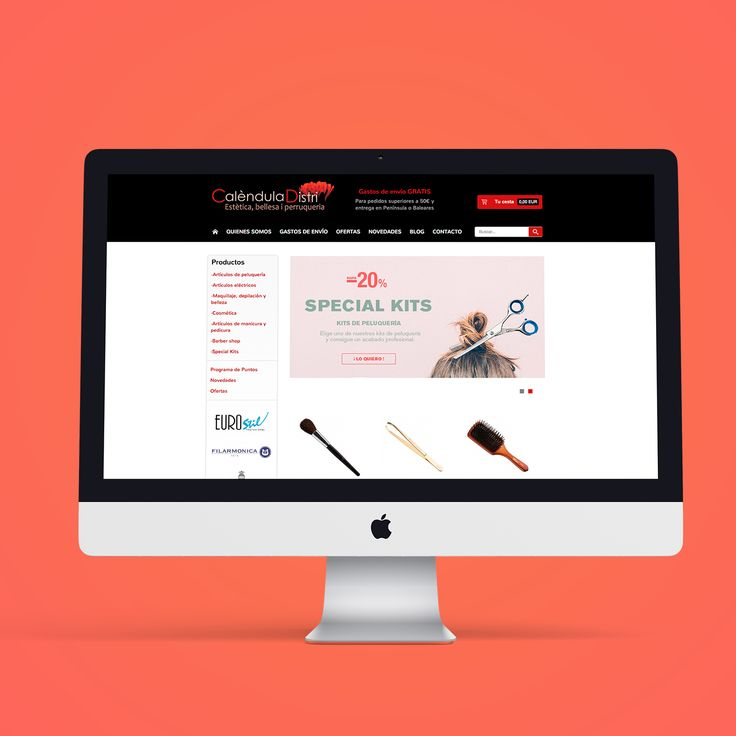 Anímate a visitarnos en www.calenduladistri.com #calenduladistri #peluquería #expertosenpeluquería