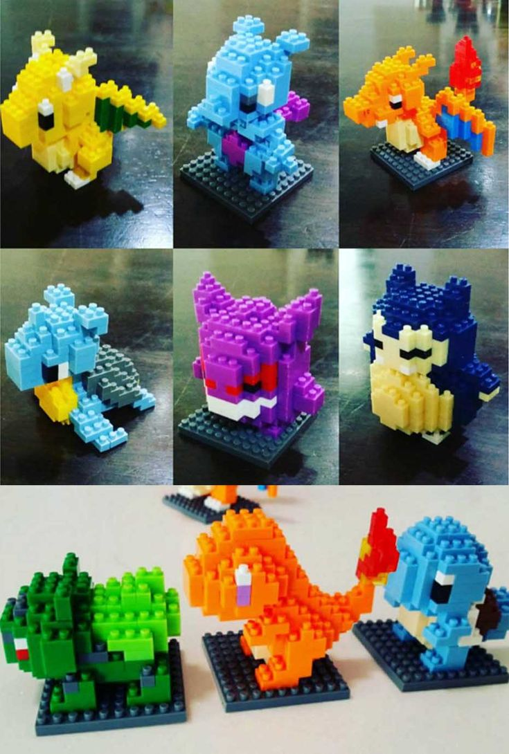Pokemon Nanoblocks