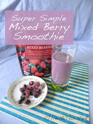 ... Party | Pinterest | Mixed Berry Smoothie, Mixed Berries and Berries