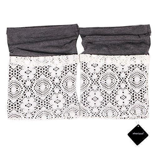 Oferta: 11€ Dto: -36%. Comprar Ofertas de xhorizon TM Calcetines Suaves y Modernos de Encaje y Estilo Bohemio para Botas para Mujeres barato. ¡Mira las ofertas!