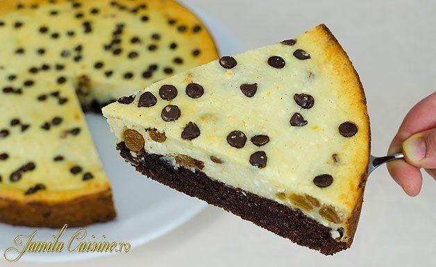 Pasca cu ciocolata si branza – reteta video