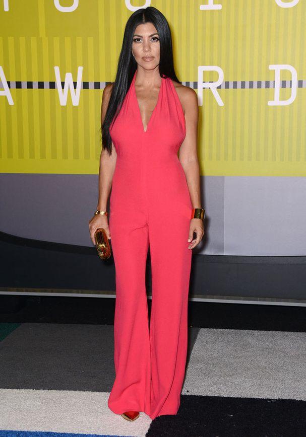 Kourtney Kardashian aux MTV Video Music Awards 2015