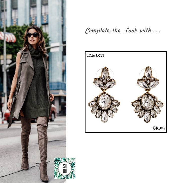 Ref: GR008 True Love  Medidas: 4 cm x 2 cm So Oh:7.99#sooh_store #onlinestore #brincos #earrings #fashion #shoponline #inspiration #styleinspiration #aw2016 #aw1617 #winter #style