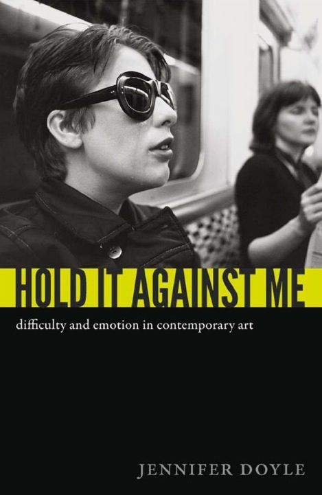 Hold it Against Me - Jennifer Doyle  : Santiago Sierra