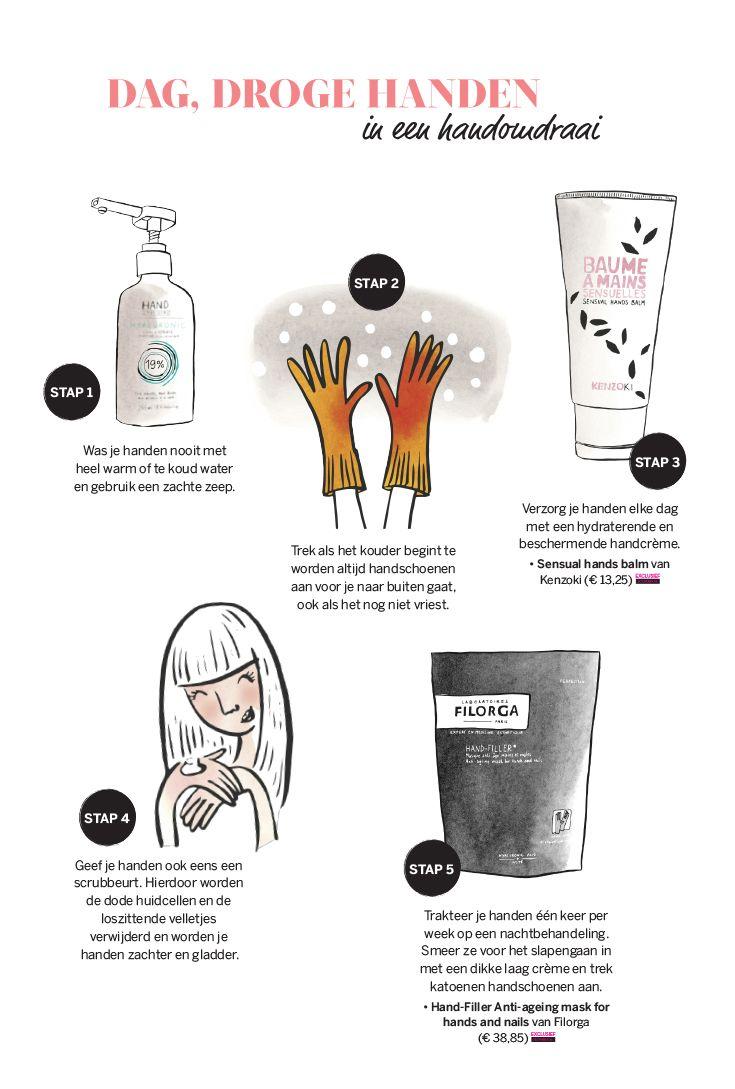 Tips voor droge handen