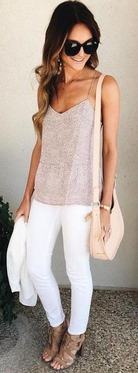Best 25  White jeans outfit ideas on Pinterest | White jeans ...