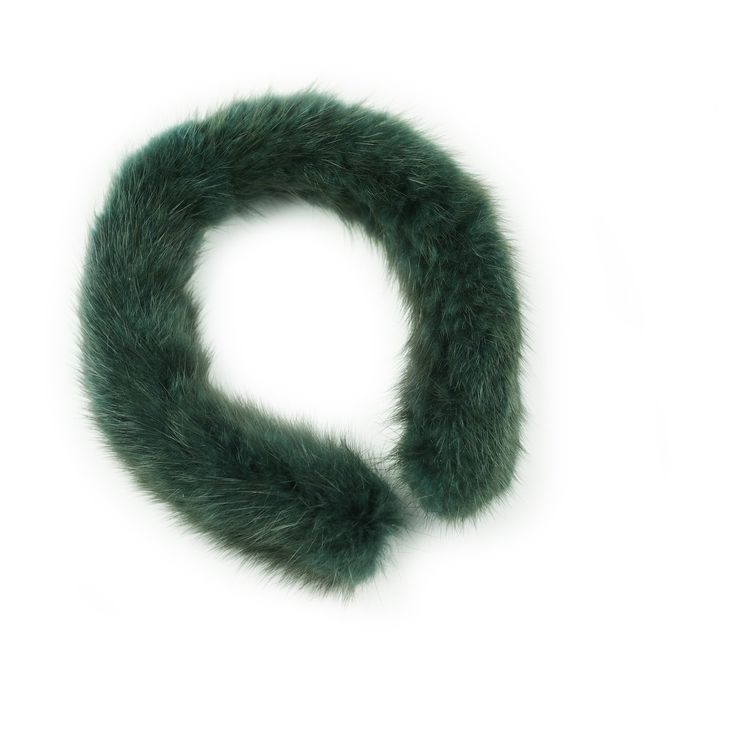 RECYCLED MINK FUR HEADBAND