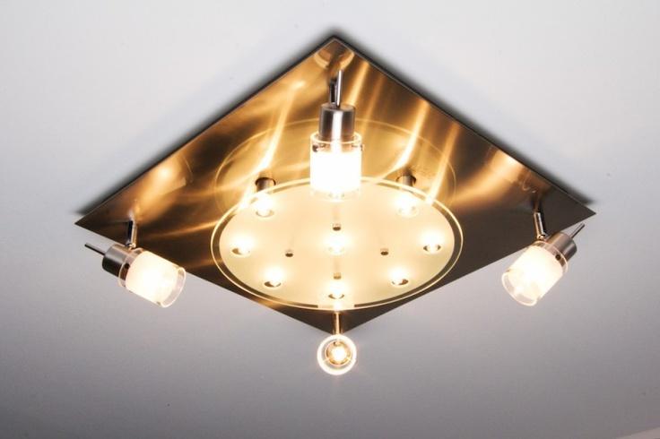 86 best lampe kunst images on pinterest ceiling lights for Deckenlampe eckig