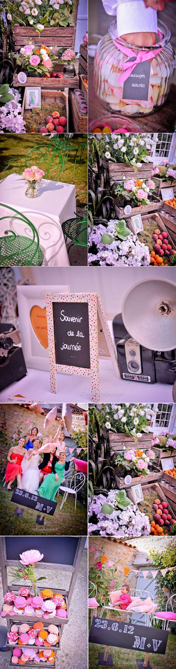 Pots confitures étiquettes ©Mamzellejoe - mariage-charente-maritime-domaine-du-bois - Le blog de Madame c- 3