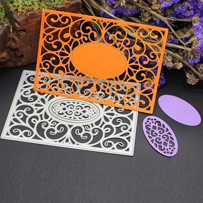 Cool Blume Stencil Cutting Dies Scrapbooking Karte Tagebuch Stanzschablone