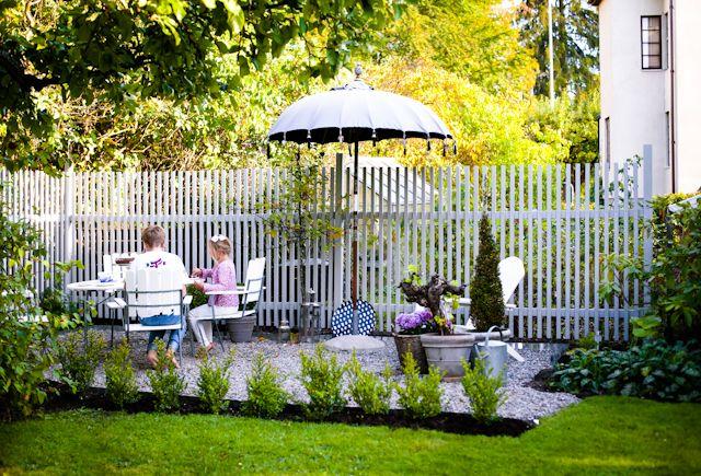 HOPH / Fint staket att ha som rumsdelare