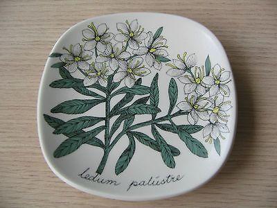 ARABIA Wandteller *ledum palustre* Design E.Tornula