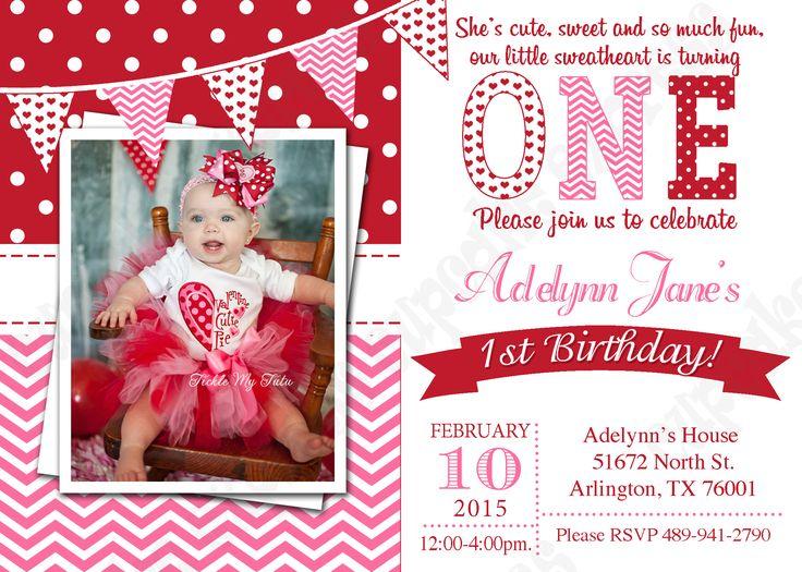 Best 25 First birthday invitations ideas on Pinterest Girl