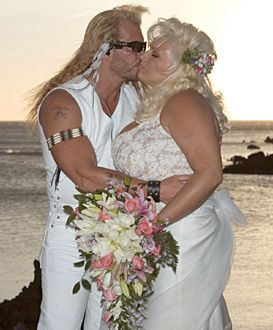 "Dog Bounty Hunter Wife Pics | Dog the Bounty Hunter - Duane ""Dog"" Chapman and Beth get married."