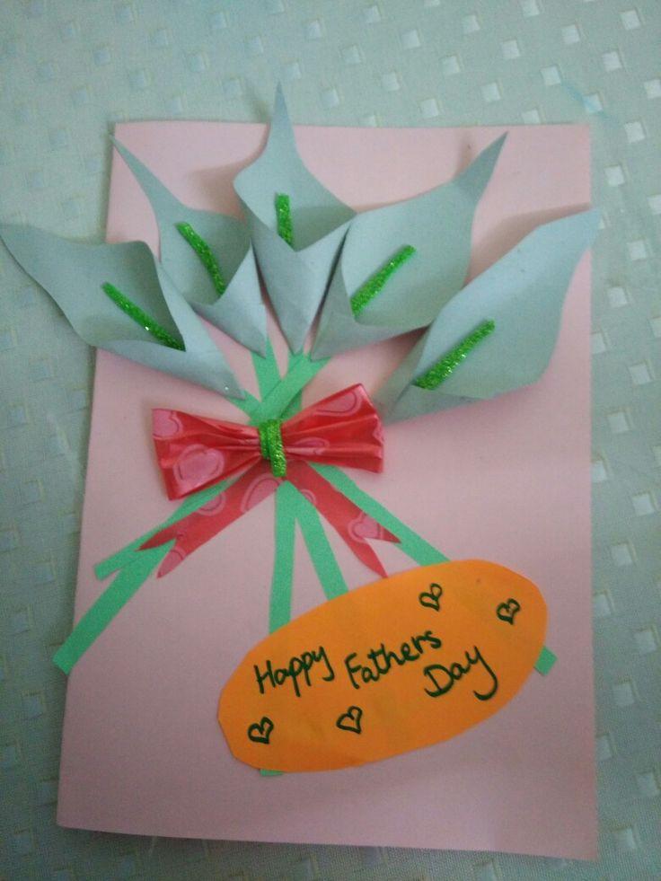 Fathers day card made by Alisha Zain