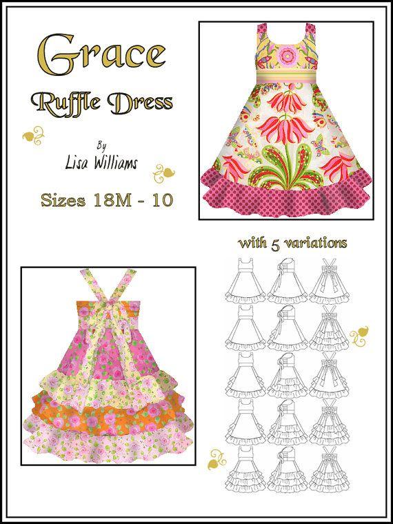 Cute ruffle dress - look at this @Sarah