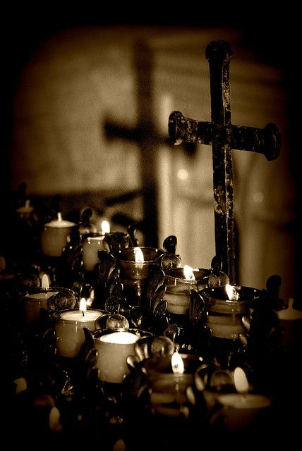 Holy Candles - used to LOVE having these in my church - at least some churches still do......