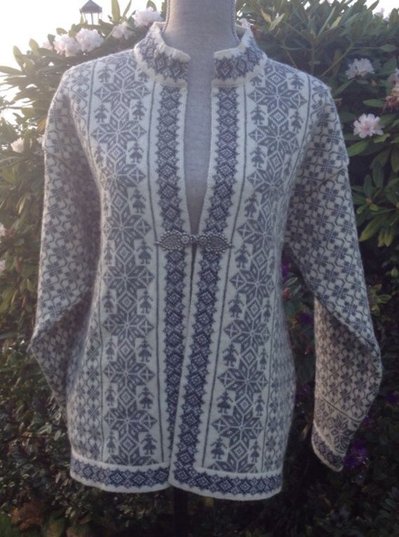 Dale of Norway Casual, wool norwegian sweater size L on Etsy, $168.00