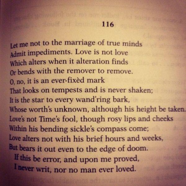 Shakespeare Love Poems 1